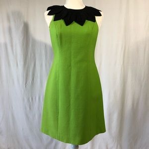 Vintage Moschino Cheap and Chic Green Sheath Dress